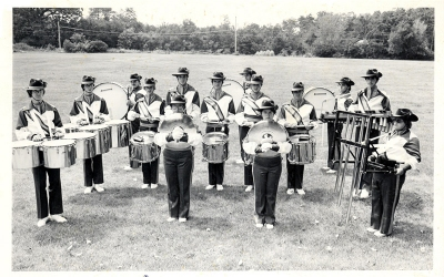 CYO Band Drum Section 1976