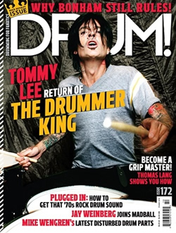 Drum Magazine - Tommy Lee
