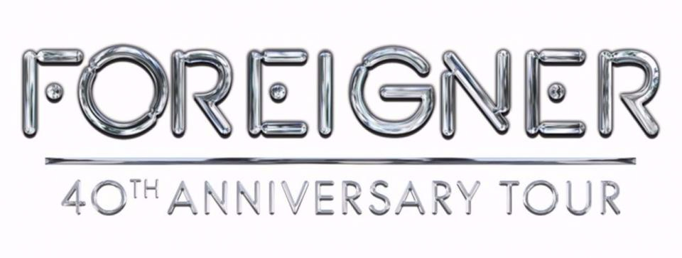 Foreigner 40th Anniversary