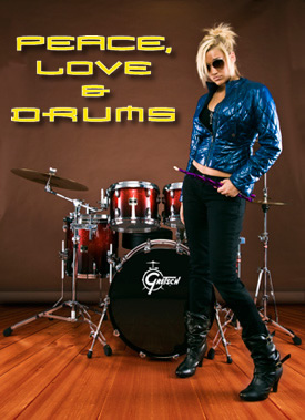 Hannah Ford - Peace, Love and Drums