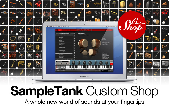 IK Multimedia - SampleTank Custom Shop