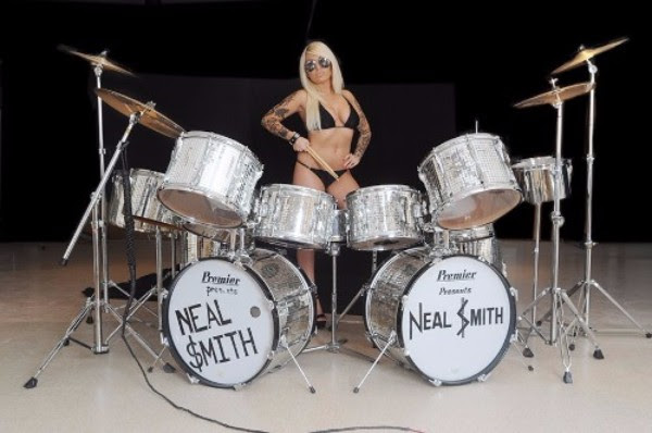 Neal Smith Premier Drum Kit