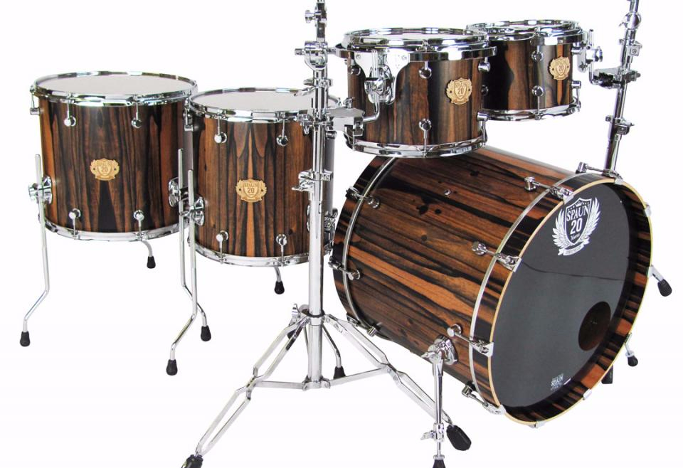 Spaun Drums 20th Anniversary Kits