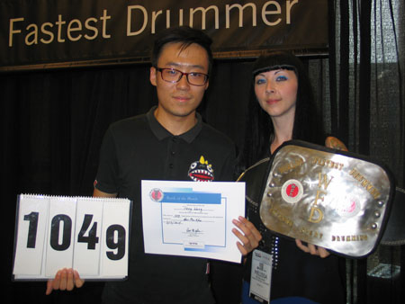 Peng Wang - WFD 2014 hands winner