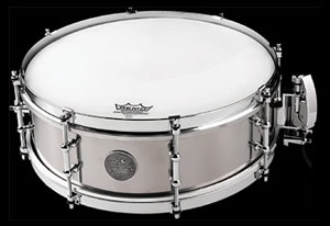 The Stanton Moore Spirit of New Orleans Titanium Snare Drum