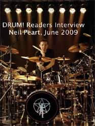 DRUM! Readers Interview Neil Peart, June 2009