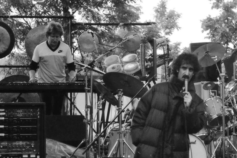 Ed Mann with Zappa (June 13, 1982 in Germany)