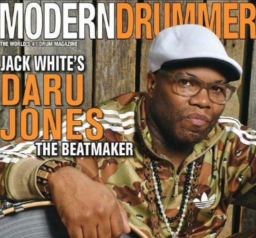 Daru Jones - Modern Drummer 2015