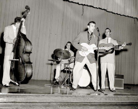 WS Fluke Holland with Carl Perkins (1956)