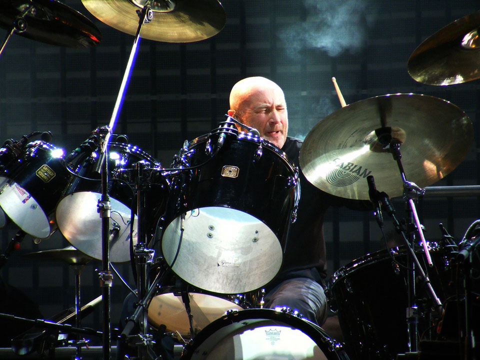 Phil Collins Drummer Percussionist