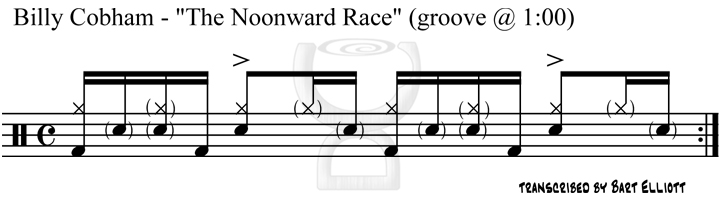 Billy Cobham - The Noonward Race (groove 1)