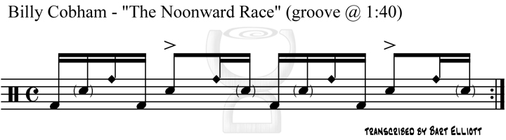 Billy Cobham - The Noonward Race (groove 2)