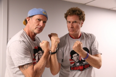 Chad Smith vs. Will Ferrell