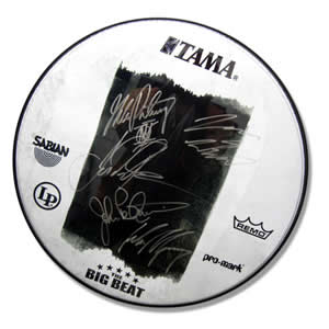 Dream Theater drumhead