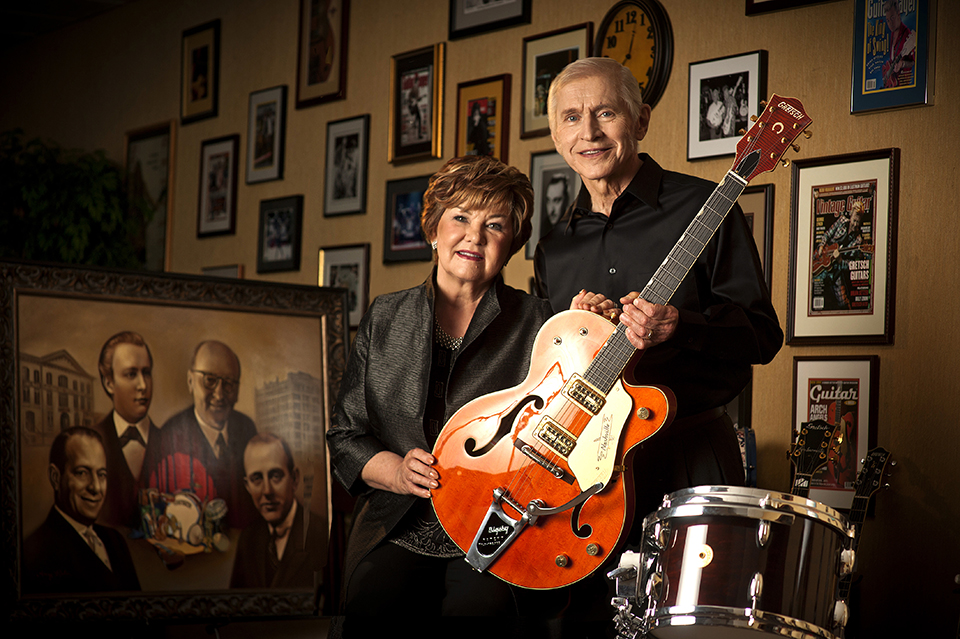 Dinah and Fred Gretsch
