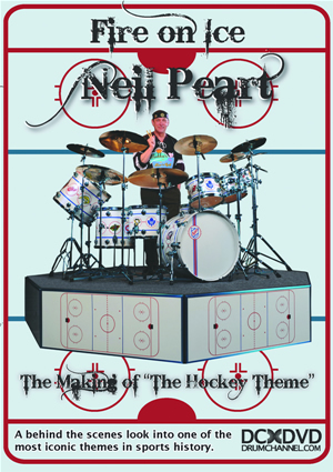 Drum Channel - Neil Peart Fire on Ice