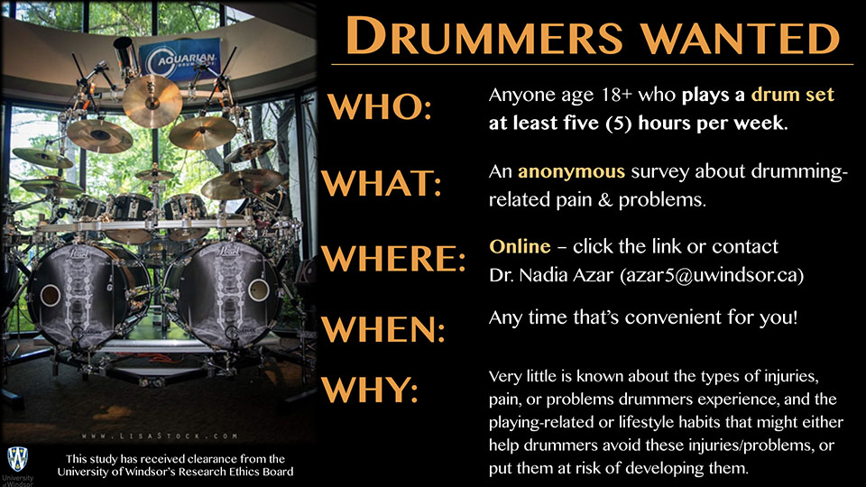 Drummers Wanted!