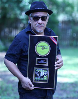 Ernie Durawa Receives Gold Record