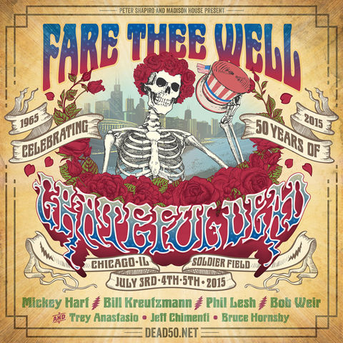 Grateful Dead 50 - Chicago