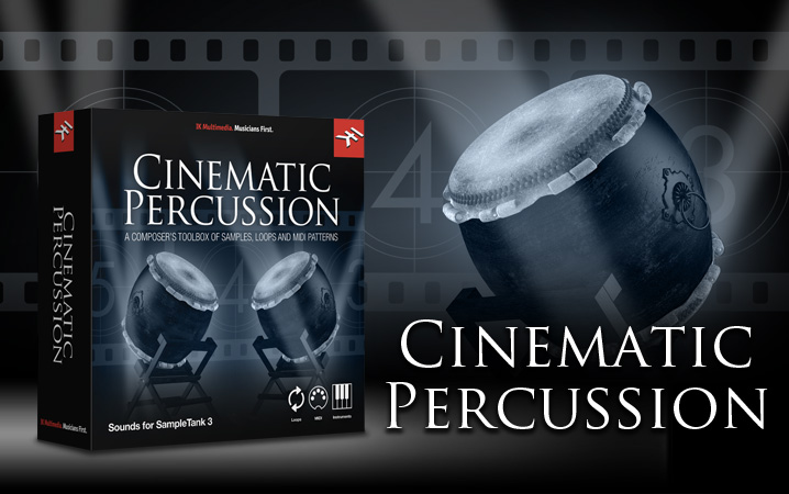 IK Multimedia - Cinematic Percussion