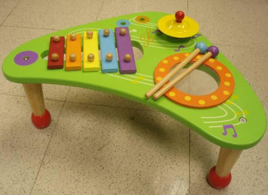 Musical Wooden Table Toys