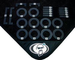 Protection Racket - Drum Mat Markers