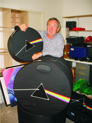 Nick Mason Dark Side of the Moon cases