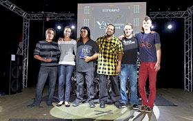 Roland V-Drum Contest Participants