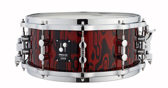 Sonor ProLite Snare Drum - Red Tribal