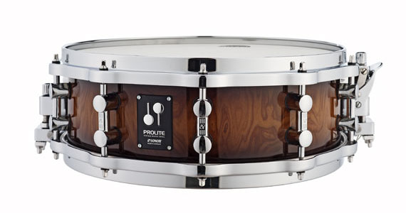 Sonor ProLite Snare Drum - Walnut Brown