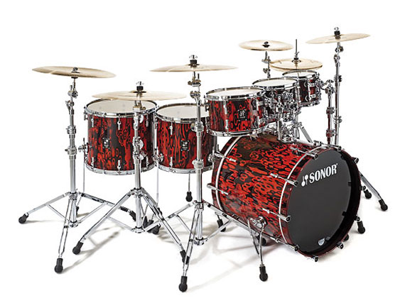 Sonor ProLite Red Tribal
