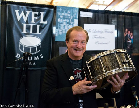 WFLiii at Chicago Drum Show 2014
