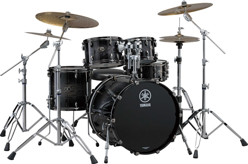 Yamaha Drums - Live Custom in Black Shadow Sunburst