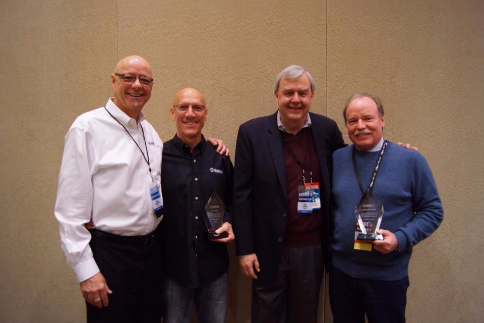 Yamaha Education Awards at PASIC 2016