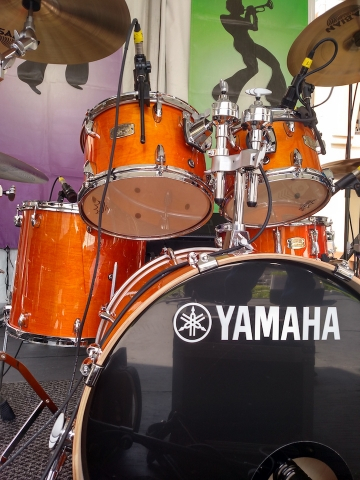 Yamaha Drums - New Orleans Jazz Festival 2016