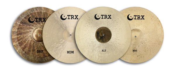 TRX Crash-Ride cymbals