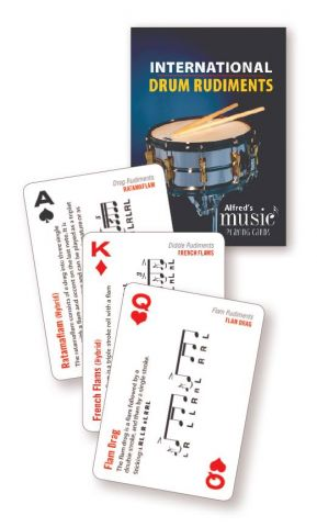 International Drum Rudiments - Playing Cards