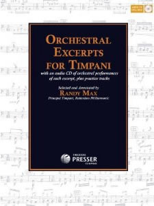 Orchestal Excerpts for Timpani